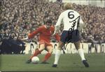 GW563 Phil Beal signed 12x8 action Spurs photo