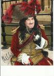 John Challis actor Only Fools and Horses signed superb 10 x 8 photo as Captain Hook in Peter Pan -