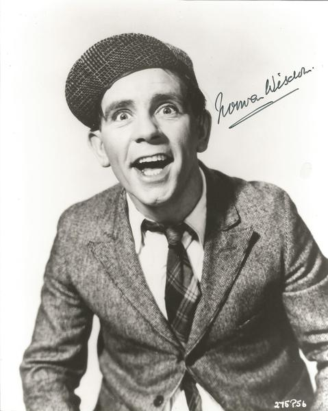 Norman Wisdom signed 10 x 8 comedy photo