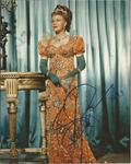 Ginger Rogers signed 10 x 8 colour full length portrait photo
