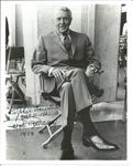 Ralph Bellamy signed 10 x 8 b/w photo